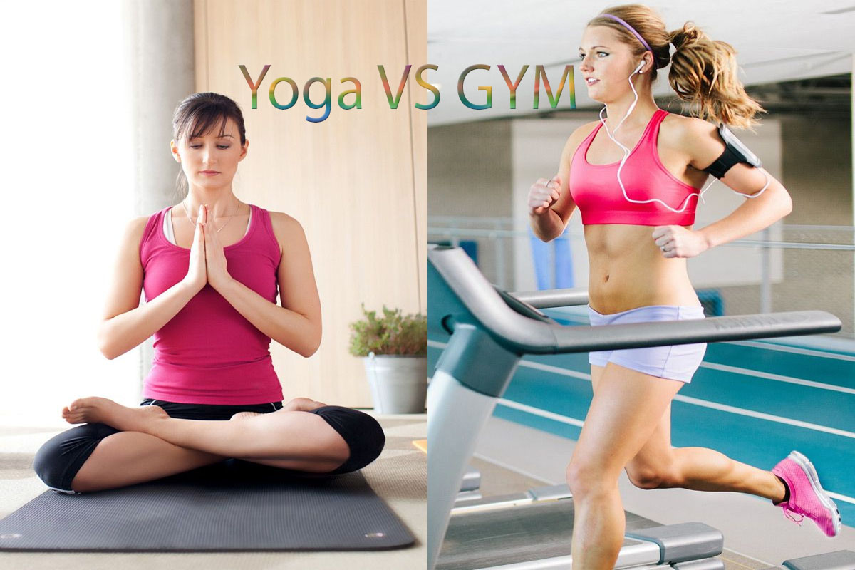 difference between yoga or gym